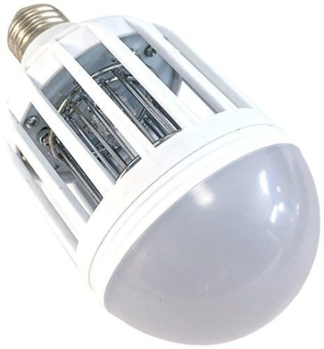dual mosquito zapper light bulb