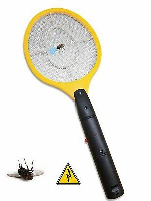 Decor Electric Zapper Swat Pest Control Yellow Large...