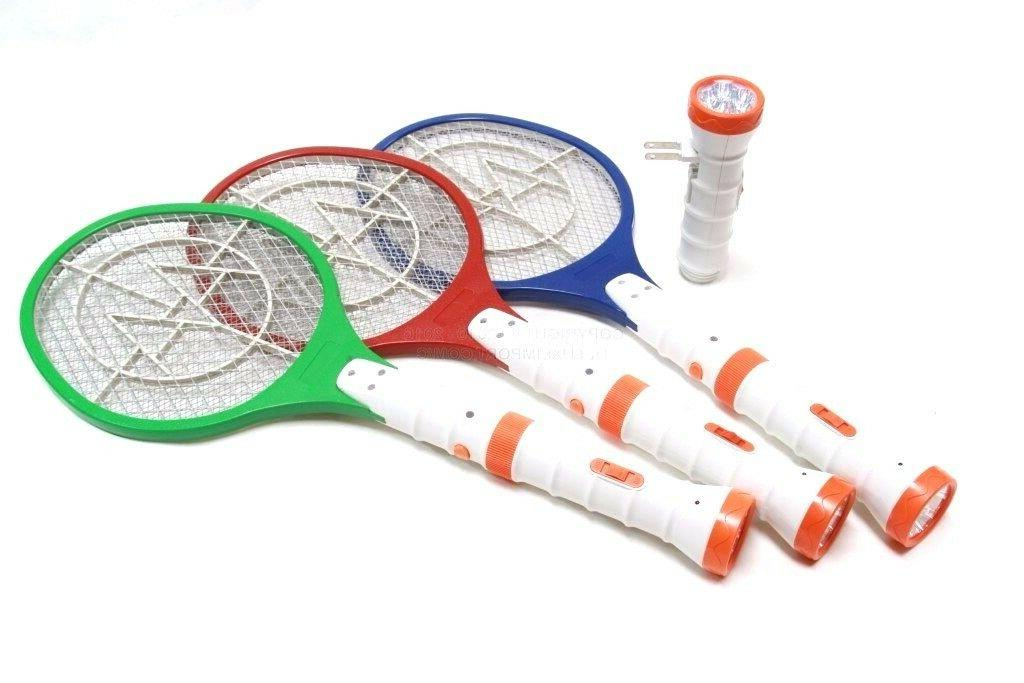 electric bug zapper racket fly swatter rechargeable