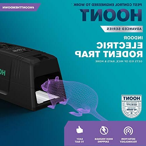 Hoont Electric Catcher Without Rodent to Get Rid Mice, Perfect Mic,