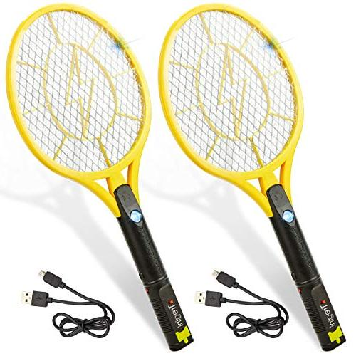 electric fly swatter rechargeable bug