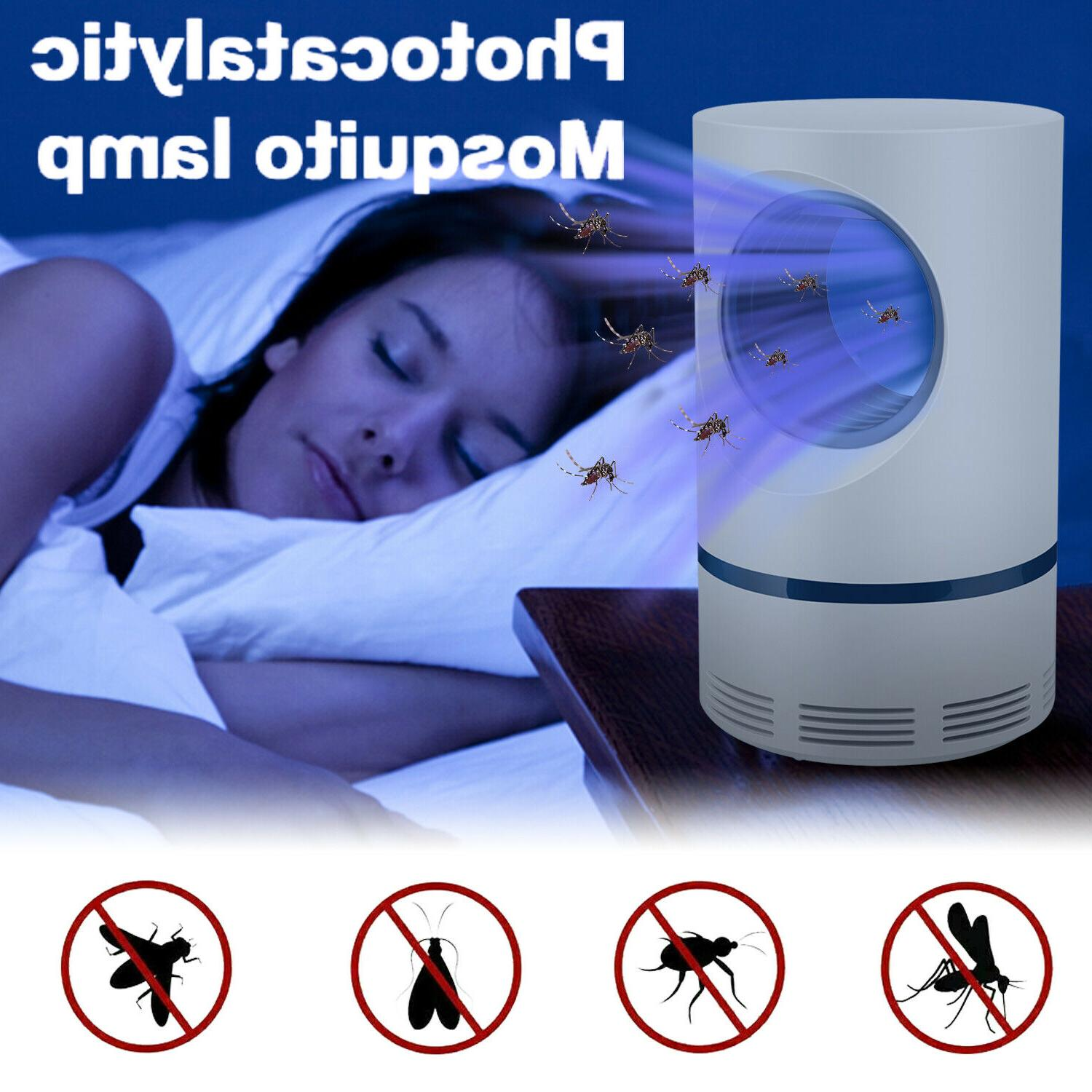 electric mosquito killer led light lamp indoor