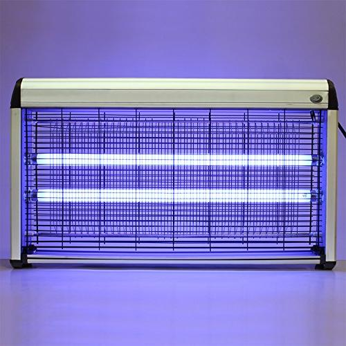 XtremepowerUS 40W Electronic Indoor/Outdoor Insect Killer Bu