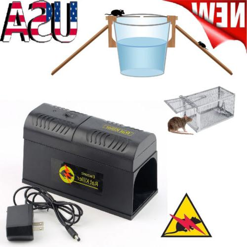 electronic mouse trap control rat killer pest