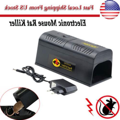 electronic mouse trap rat killer pest control