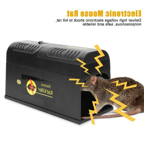 8000V Electronic Mouse Trap Electric Zapper Rodent