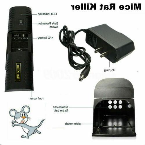8000V Electronic Mouse Rat Pest Killer Electric Zapper Rodent