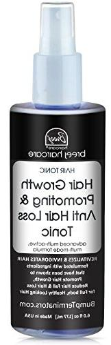 HAIR GROWTH PROMOTING AND ANTI HAIR LOSS TONIC, , 6 fl oz -
