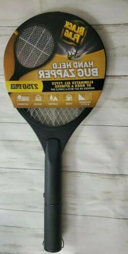 Hand Held Electric Swatter Bug Zapper Insect Mosquito Killer