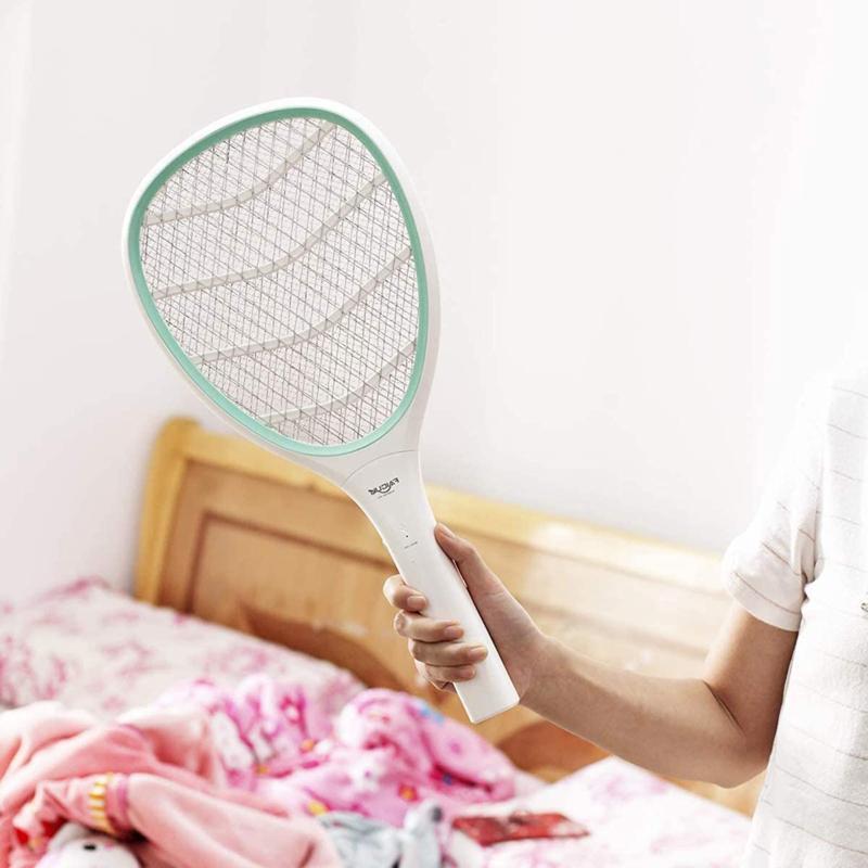 Faicuk Handheld Racket Electric Swatter Mosquito Killer