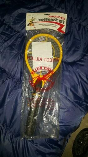 handheld bug zapper tennis racket electronic fly