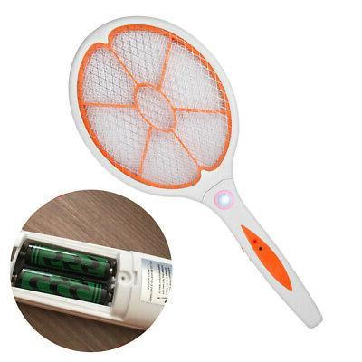 handheld electric mosquito fly swatter zapper killer