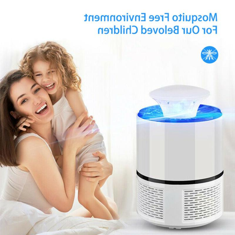 Home USB Electric Mosquito Killer Repeller Zapper Insect Trap US