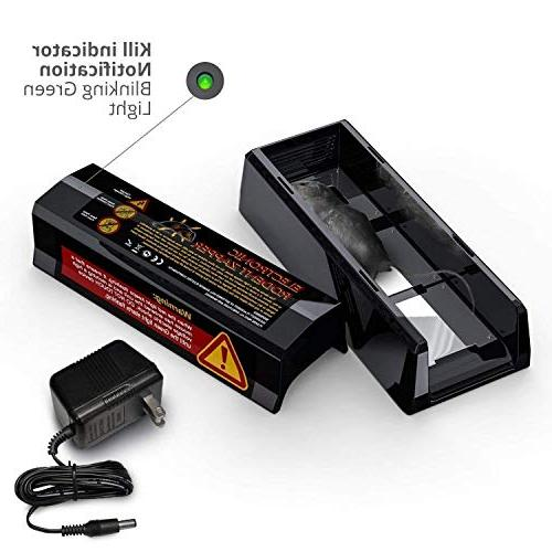 PestZilla Humane Pest Rodent Voltage Electric Zapping Rats, and Many Others