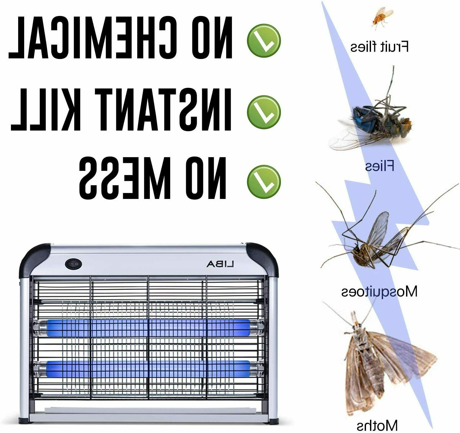 Indoor Bug Zapper Electric Insect 2-Pack