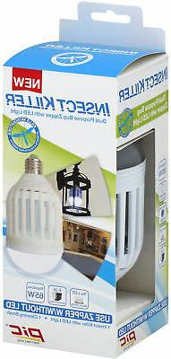 Pic Insect Killer Dual Purpose Bug Zapper with LED Light