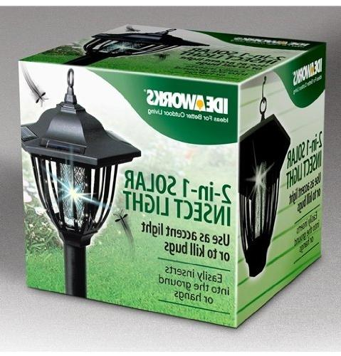 IdeaWorks 1 Insect Bug Zapper Dual Black
