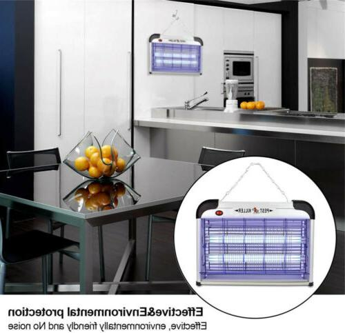 Lamp Insect Killer Zapper Fly Trap Electric Lawn