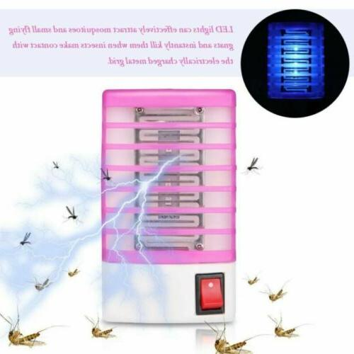 LED Electric Mosquito Lamp Fly Insect Trap Lights Zapper new