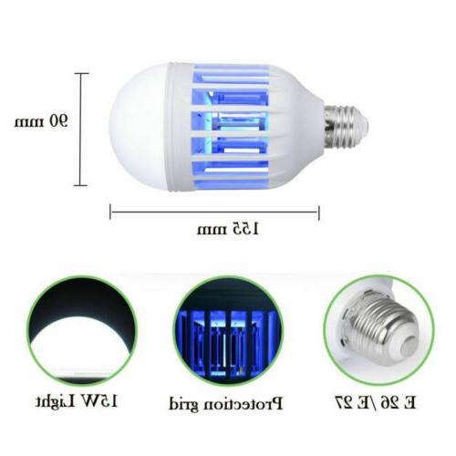 3Pack Zapper Bulb in Mosquito Lamp Patio USA