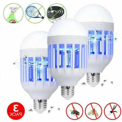 3Pack Bug Bulb Mosquito Killer Lamp Patio