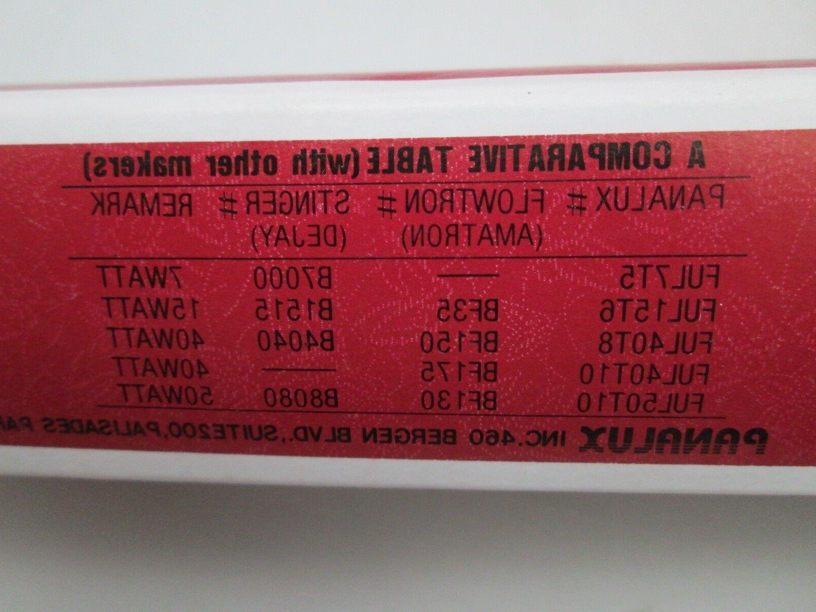 Lot x 12 Panalux FUL40T8 Watt Replacement BUG