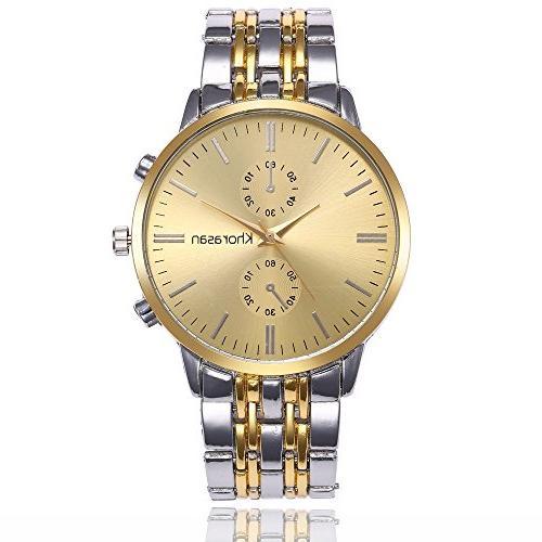 luxury watch stainless steel watch for men