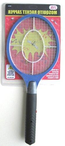 Illinios Industrial Tool Mosquito Racket Zapper, Black/Blue