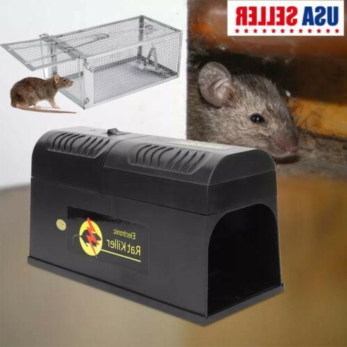 electronic metal mouse trap mice killer rat