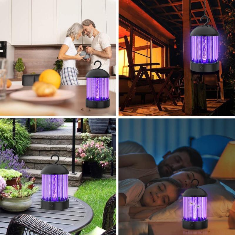 Okk Electronic Bug Indoor Portable Mosquito Lamp