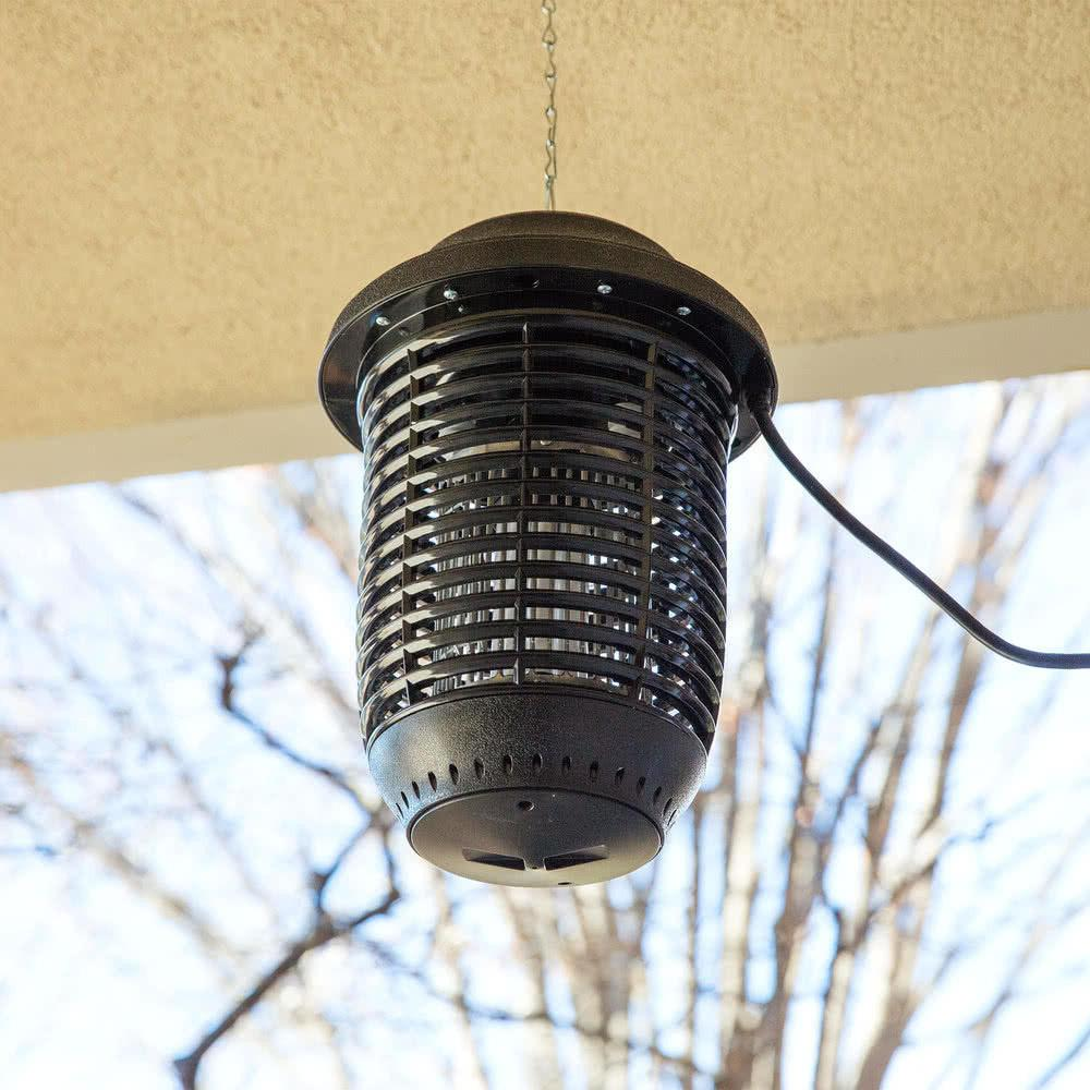 outdoor black plastic flying insect trap bug