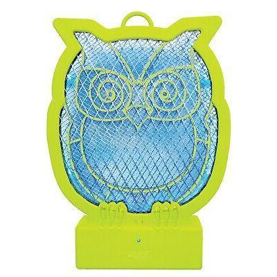 owl shaped bug zapper fun animal shaped