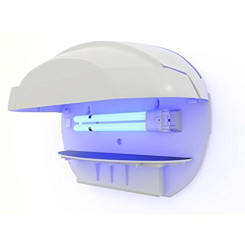 Hoont Sticky Trap Catcher and Killer with Bright UV Light Get Rid of All Flies - For and Commercial Use