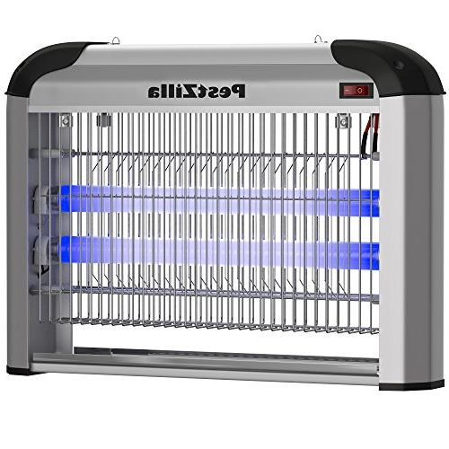 PestZilla Bug Zapper Protects Up 6,000 Sq. / Indoor – Flies, Insects, – Enjoy Free Environment
