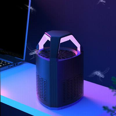 Safe Electric Mosquito Killer Lamp Fly Bug Insect Zapper Trap LED Home