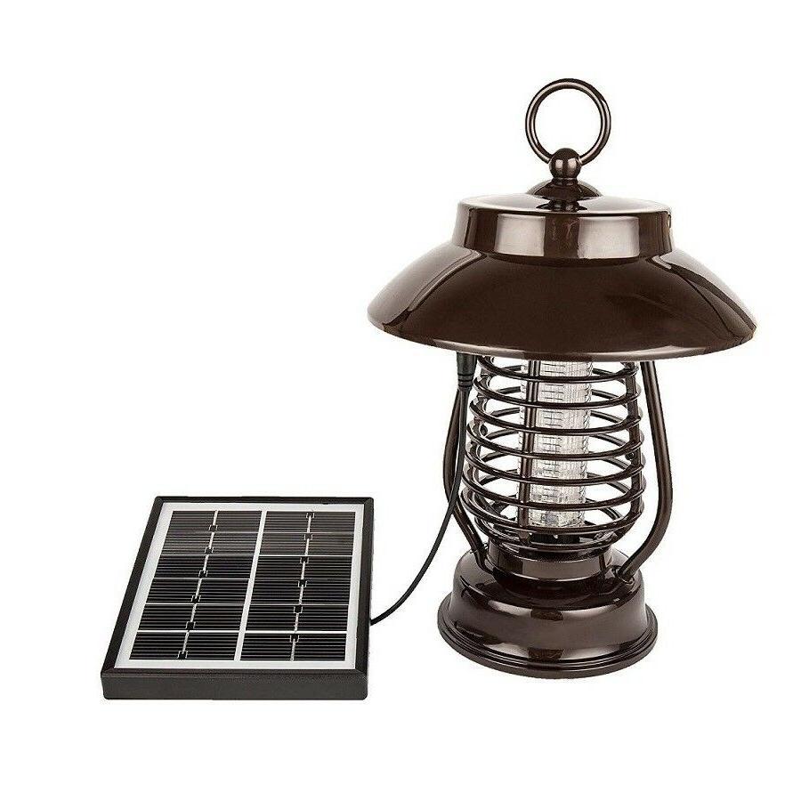 Solar Powered & Bug Killer Insect Repeller Light Garden