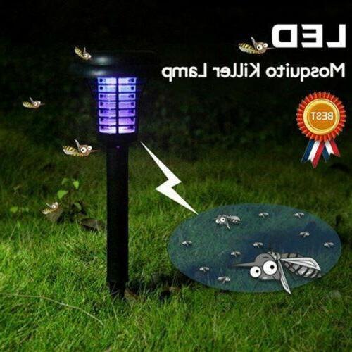 Solar LED Pest Bug Killer Lamp Wall Mounted