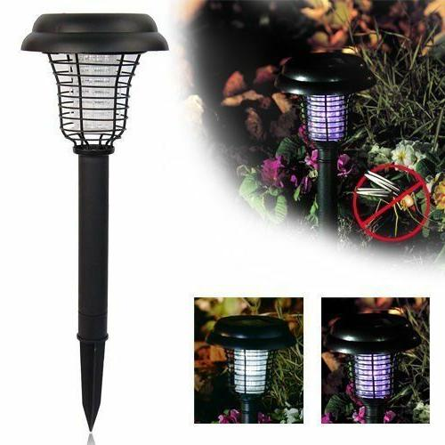 Solar Powered LED Pest Mosquito Killer Lawn