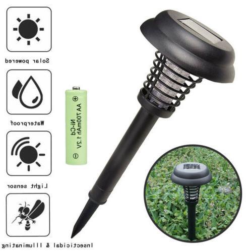 Solar Fly Insect Zapper Killer Lamp MK6p