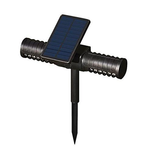 solar powered uv lamp light