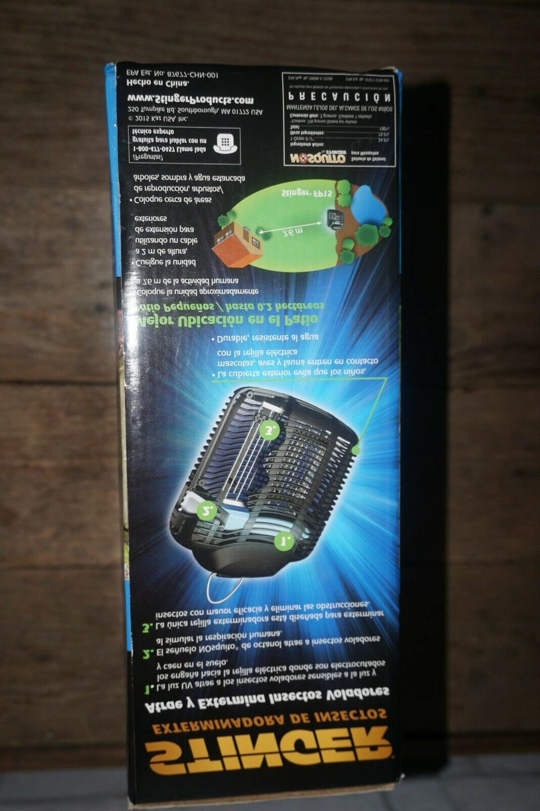 Stinger Electronic Insect Bug Zapper Coverage