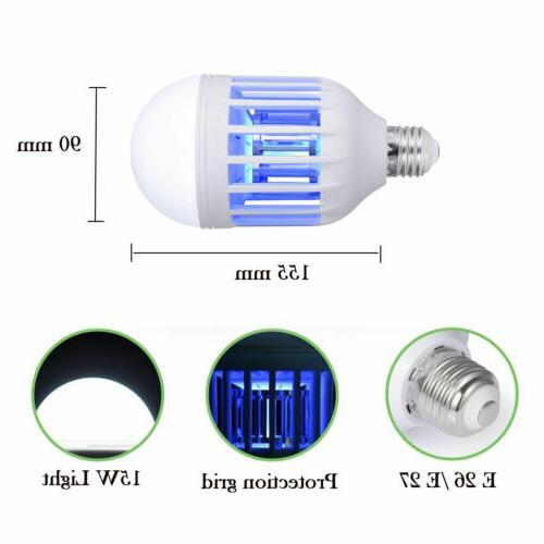 3PCS Bug Outdoor Indoor 15W E27 Light Bulb