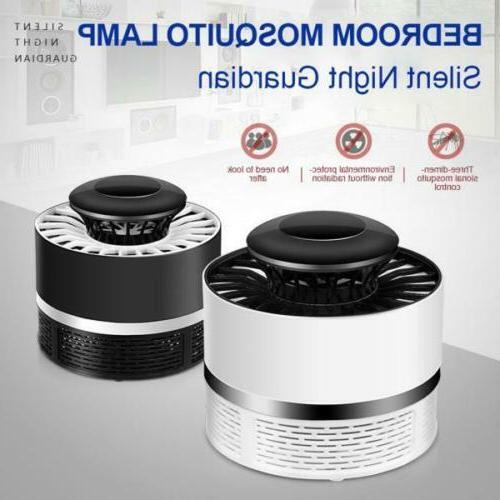 US USB Lure Mosquito Killer Bug Zapper LED