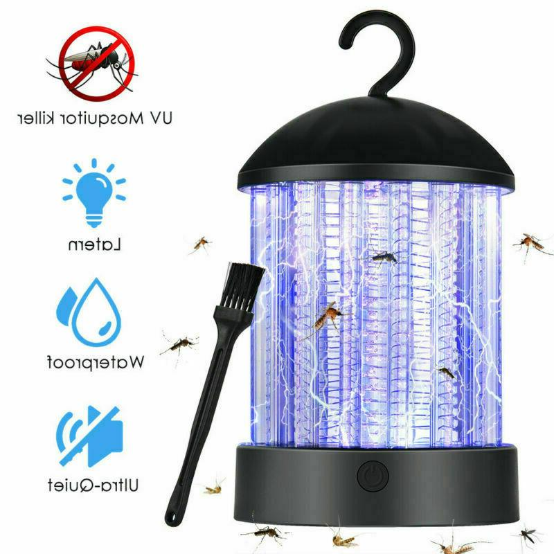 Mosquito Lamp Camping Garden Hanging USB Electric Fly