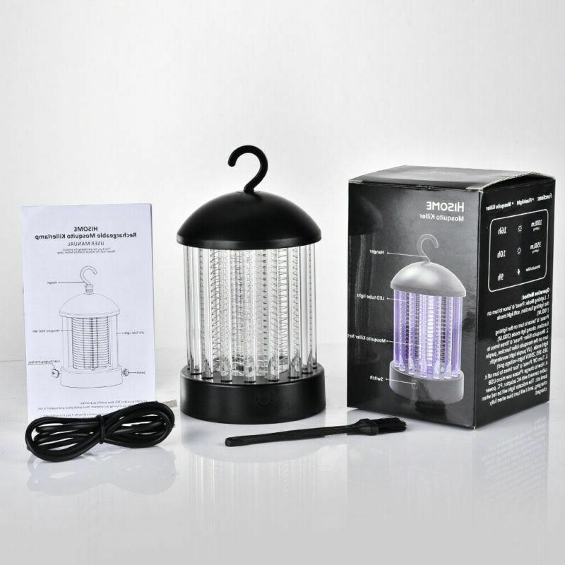 Mosquito Killer Camping Garden Hanging Electric Insect Zapper