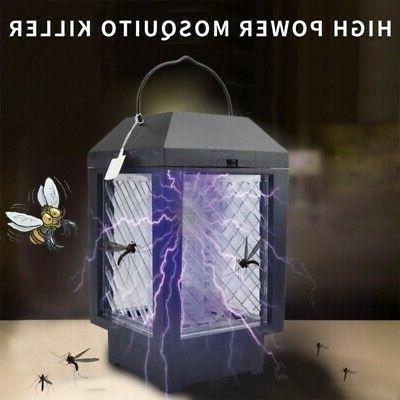 uv led solar battery powered mosquito killer