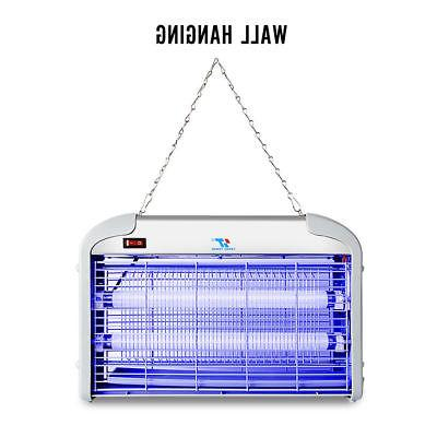 30W UV Night Electric Fly Bug Insect Trap Pest Mosquito Killer