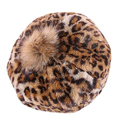 valentine gifts winter warm leopard