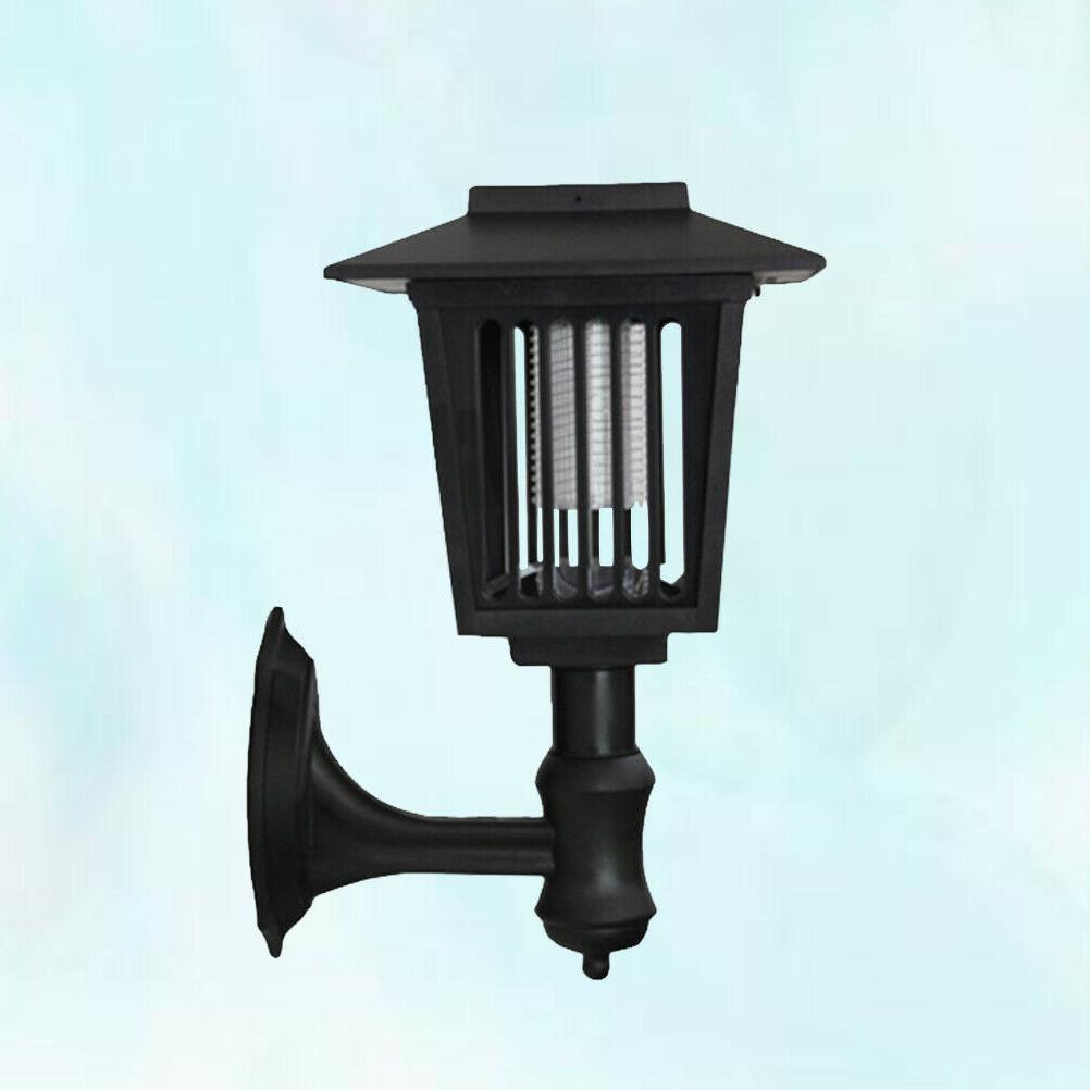 Wall Mounted Solar Zapper Outdoor Mosquito Lamp