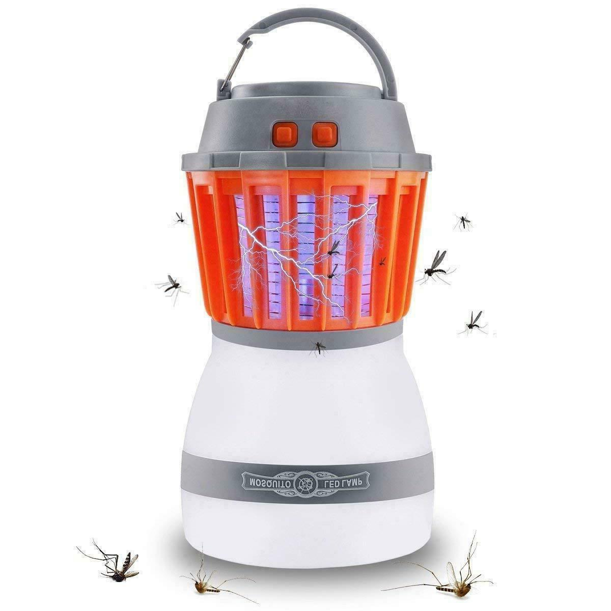 waterproof camping lantern bug zapper mosquito killer